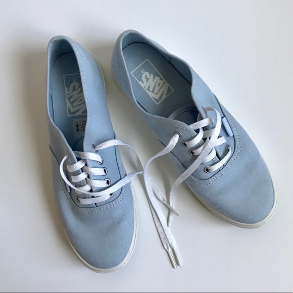 180e31310277c8 Vans Authentic Lo Pro Women s 6.5 Light Blue Shoes.  M 5b2f1c89aaa5b8bbe61353b9